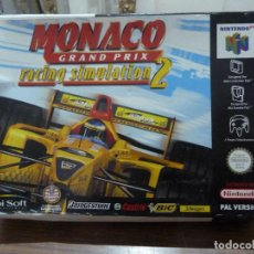 Videojuegos y Consolas: MONACO GRAND PRIX RACING SIMULATION 2 PARA NINTENDO 64. Lote 261647340