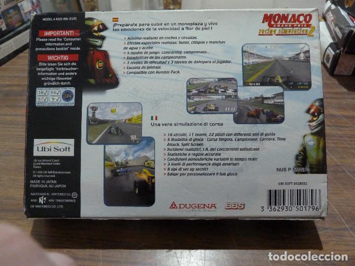 Videojuegos y Consolas: MONACO GRAND PRIX RACING SIMULATION 2 PARA NINTENDO 64 - Foto 2 - 261647340