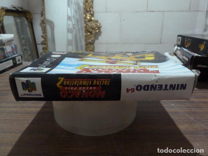 Videojuegos y Consolas: MONACO GRAND PRIX RACING SIMULATION 2 PARA NINTENDO 64 - Foto 3 - 261647340