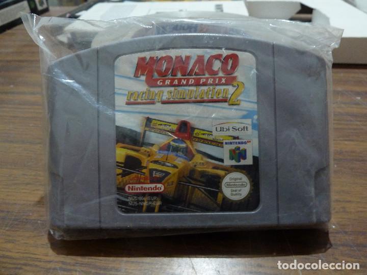 Videojuegos y Consolas: MONACO GRAND PRIX RACING SIMULATION 2 PARA NINTENDO 64 - Foto 15 - 261647340
