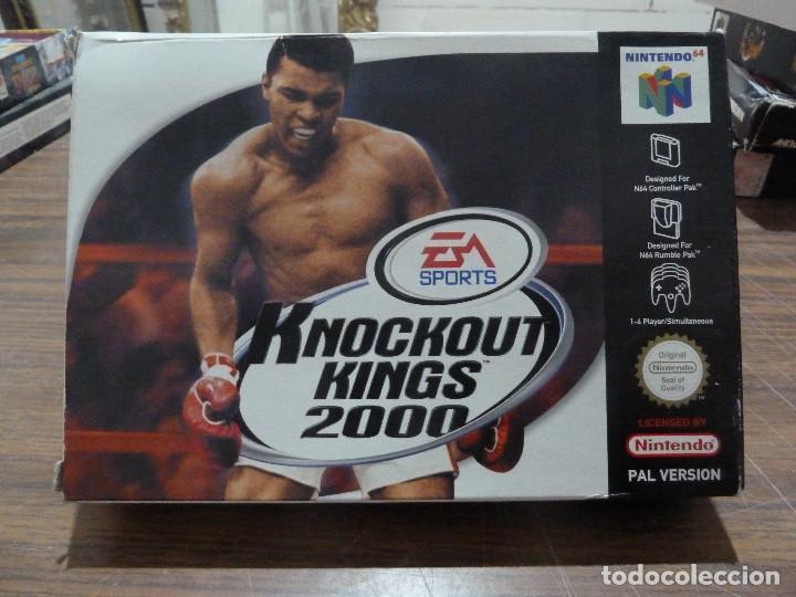 KNOCKOUT KINGS 2000 PARA NINTENDO 64 (Juguetes - Videojuegos y Consolas - Nintendo - Nintendo 64)