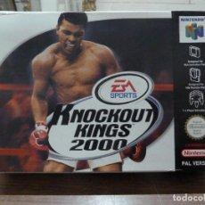 Videojuegos y Consolas: KNOCKOUT KINGS 2000 PARA NINTENDO 64. Lote 261647380