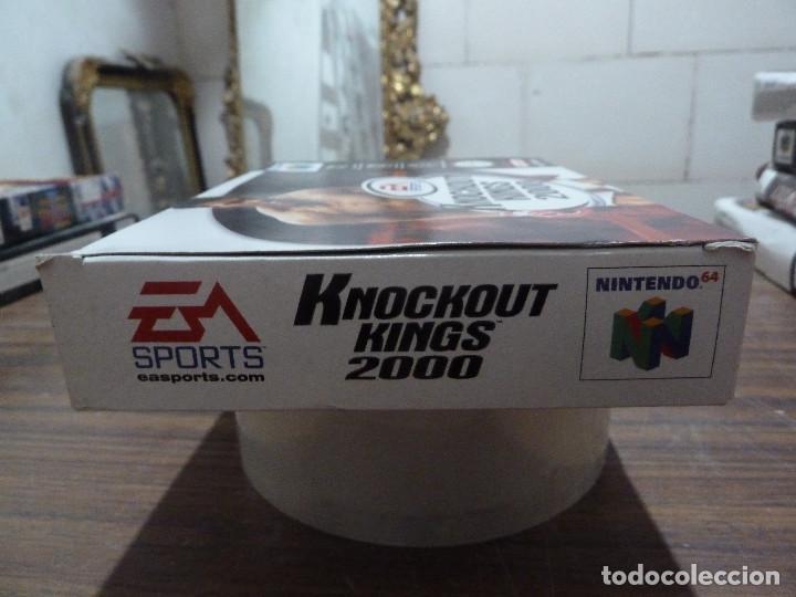 Videojuegos y Consolas: KNOCKOUT KINGS 2000 PARA NINTENDO 64 - Foto 4 - 261647380