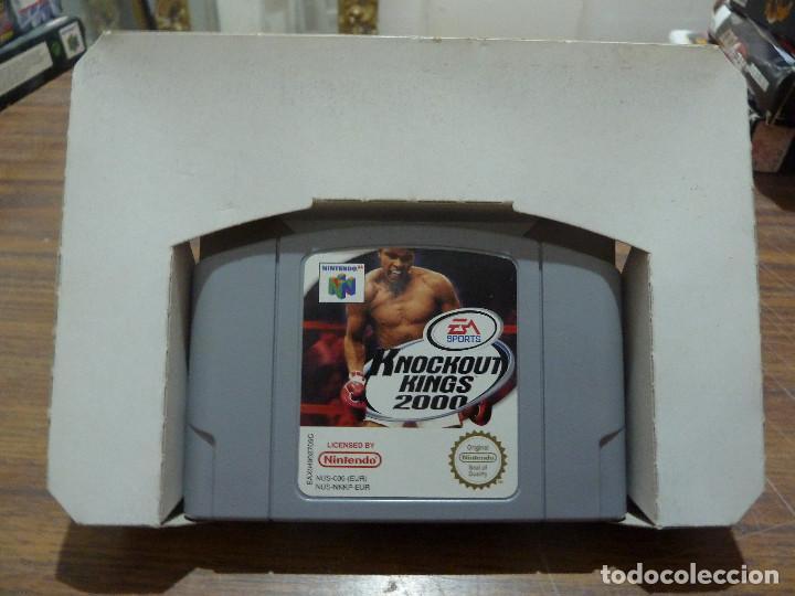 Videojuegos y Consolas: KNOCKOUT KINGS 2000 PARA NINTENDO 64 - Foto 7 - 261647380