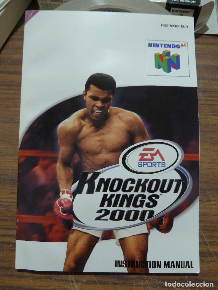 Videojuegos y Consolas: KNOCKOUT KINGS 2000 PARA NINTENDO 64 - Foto 18 - 261647380
