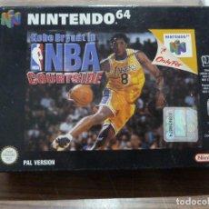 Videojuegos y Consolas: KOBE BRYANT IN NBA COURTSIDE PARA NINTENDO 64. Lote 261647660