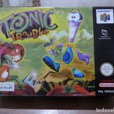 Videojuegos y Consolas: TONIC TROUBLE PARA NINTENDO 64. Lote 261786035