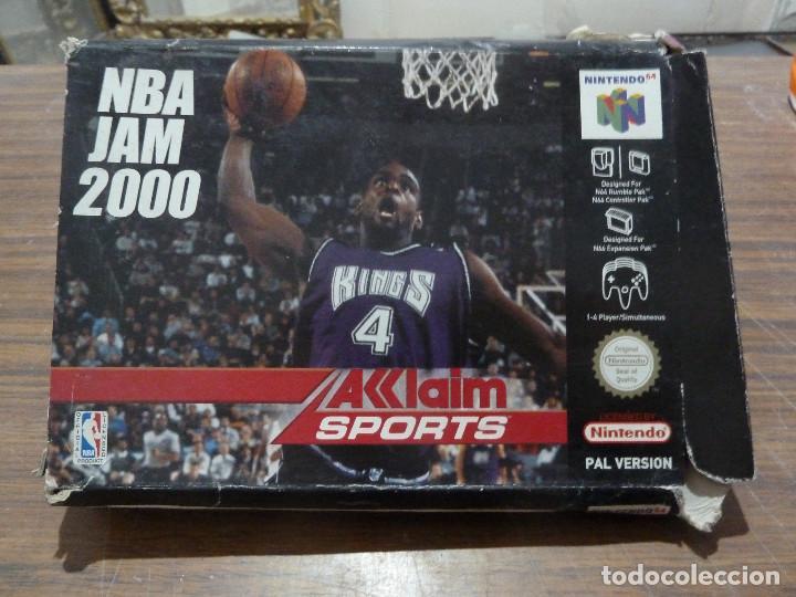 NBA JAM 2000 PARA NINTENDO 64 (Juguetes - Videojuegos y Consolas - Nintendo - Nintendo 64)