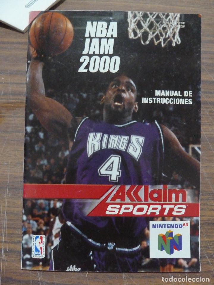 Videojuegos y Consolas: NBA JAM 2000 PARA NINTENDO 64 - Foto 16 - 261966935