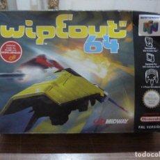 Videojuegos y Consolas: CAJA DEL JUEGO WIPEOUT 64 PARA NINTENDO 64. Lote 261969395