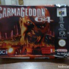 Videojuegos y Consolas: CAJA DEL JUEGO CARMAGEDDON 64 PARA NINTENDO 64. Lote 261969650