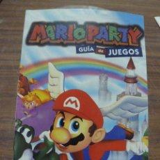 Videojuegos y Consolas: MARIO PARTY GUIA DE JUEGOS PARA NINTENDO 64. Lote 261972040