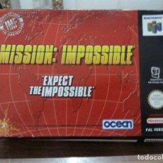 Videojuegos y Consolas: MISSION IMPOSSIBLE PARA NINTENDO 64 EN ESPAÑOL. Lote 261976735