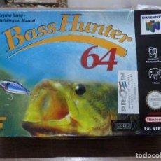 Videojuegos y Consolas: BASS HUNTER 64 PARA NINTENDO 64. Lote 261978625