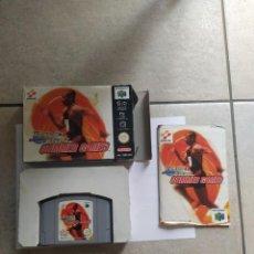 Videojuegos y Consolas: TRACK & FIELD SUMMER GAMES N64 NINTENDO 64 COMPLETO PAL-ESPAÑA. Lote 262105405