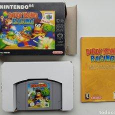 Videogiochi e Consoli: DIDDY KONG RACING COMPLETO NINTENDO 64. Lote 262563920