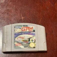 Videojuegos y Consolas: JUEGO NINTENDO 64 GT 64. Lote 265135204