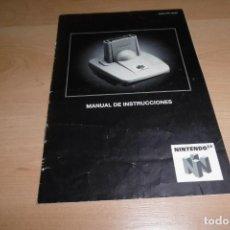 Jeux Vidéo et Consoles: MANUAL DE USUARIO INSTRUCCIONES NINTENDO 64 TRANSFER PAK. Lote 266134003