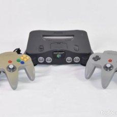 Videojuegos y Consolas: CONSOLA NINTENDO 64 (NUS - EUR-1) + 2 MANDOS. Lote 267877734