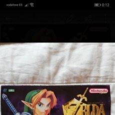 Videojuegos y Consolas: CALENDARIO ZELDA 1999 NUEVO, ZELDA OCARINA OF TIME ZOOT. Lote 268471314