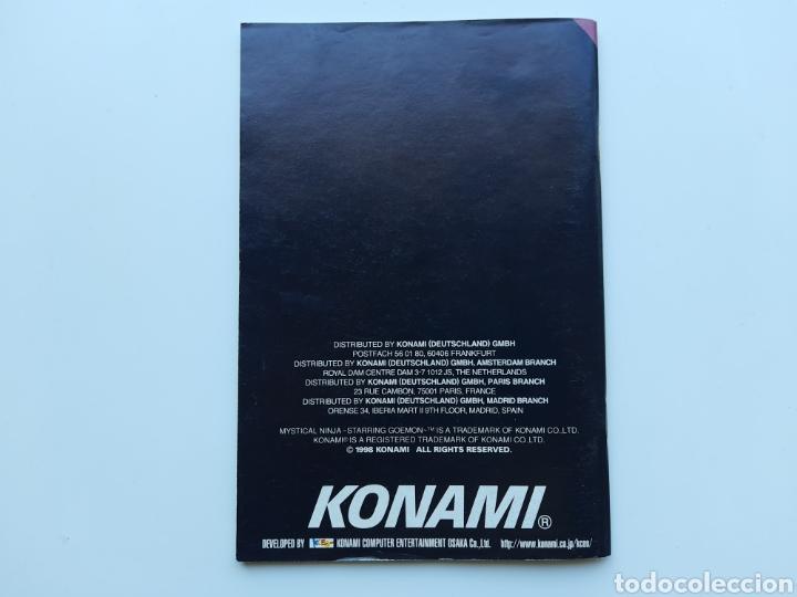 Videojuegos y Consolas: Manual Mystical Ninja Starring Goemon Nintendo 64 - Foto 2 - 268944104