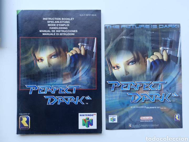Videojuegos y Consolas: Perfect Dark completo Nintendo 64 - Foto 2 - 268944729