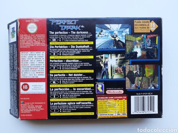 Videojuegos y Consolas: Perfect Dark completo Nintendo 64 - Foto 9 - 268944729