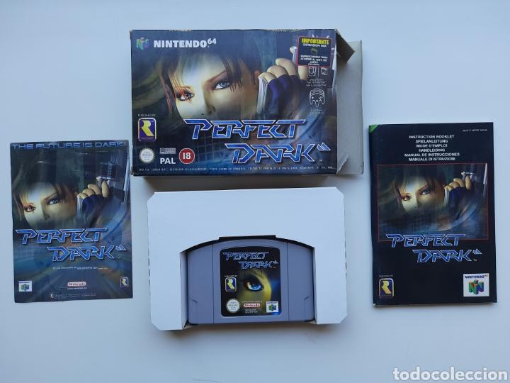 PERFECT DARK COMPLETO NINTENDO 64 (Juguetes - Videojuegos y Consolas - Nintendo - Nintendo 64)