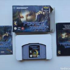 Videojuegos y Consolas: PERFECT DARK COMPLETO NINTENDO 64. Lote 268944729