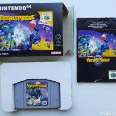 Videojuegos y Consolas: TETRISPHERE COMPLETO NINTENDO 64. Lote 268944829