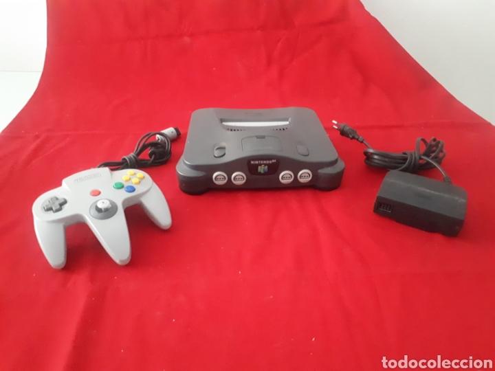 CONSOLA NINTENDO 64 (Juguetes - Videojuegos y Consolas - Nintendo - Nintendo 64)