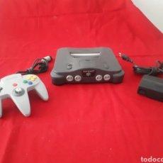 Videojuegos y Consolas: CONSOLA NINTENDO 64. Lote 268985379
