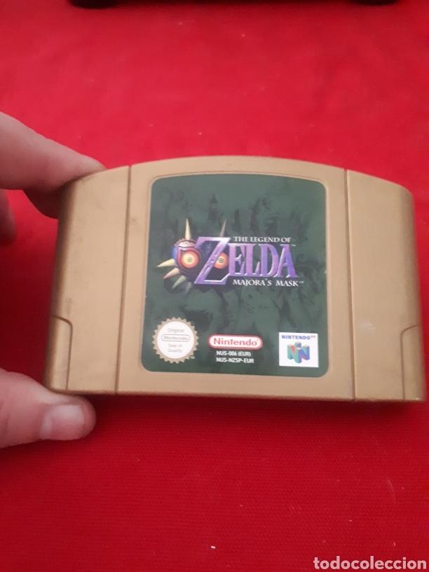 JUEGO ZELDA THE LEGEND OF MAJORAS MASK NINTENDO 64 (Juguetes - Videojuegos y Consolas - Nintendo - Nintendo 64)