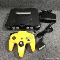Videojuegos y Consolas: CONSOLA NINTENDO 64 JAP MOD RGB+MANDO+RGB+AC. Lote 269685228