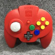 Videojuegos y Consolas: HORI MINI PAD ROJO NINTENDO 64. Lote 269685233