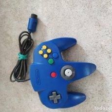 Videojuegos y Consolas: MANDO PAD JOYPAD ORIGINAL AZUL NINTENDO 64 N64, PROBADO Y FUNCIONANDO. Lote 270259943