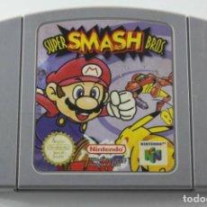 Videojuegos y Consolas: NINTENDO 64 N64 SUPER SMASH BROS SOLO CARTUCHO PAL EUR. Lote 272584763