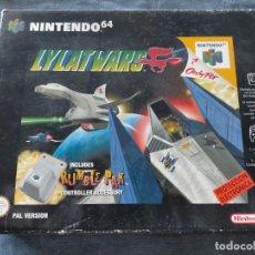 Videojuegos y Consolas: LYLAT WARS DE NINTENDO 64 COMPLETO PAL EUROPE. Lote 275167538