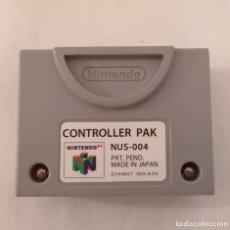 Videojuegos y Consolas: NINTENDO 64 CONTROLLER PAK. Lote 275788993