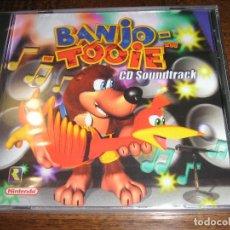 Videojuegos y Consolas: BANJO-TOOIE CD SOUNDTRACK - NUEVA Y PRECINTADA - NINTENDO 64 - GRANT KIRKHOPE. Lote 276082963