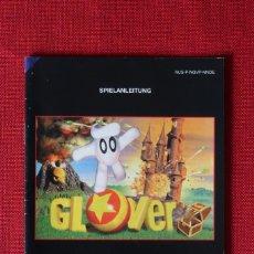 Videojuegos y Consolas: INSTRUCCIONES DEL JUEGO GLOVER DE NINTENDO 64. Lote 276251283