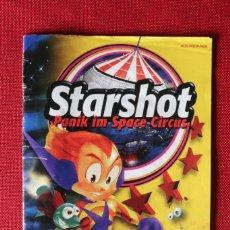 Videojuegos y Consolas: INSTRUCCIONES DEL JUEGO STARSHOT PANIC IM SPACE CIRCUS DE NINTENDO 64. Lote 276257678