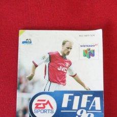 Videojuegos y Consolas: INSTRUCCIONES DEL JUEGO FIFA 99 DE NINTENDO 64. Lote 276270973