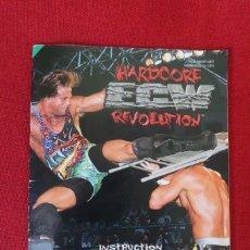 Videojuegos y Consolas: INSTRUCCIONES DEL JUEGO ECW HARDCORE REVOLUTION DE NINTENDO 64. Lote 276271413