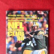 Videojuegos y Consolas: INSTRUCCIONES DEL JUEGO NFL QUARTERBACK CLUB 98 DE NINTENDO 64. Lote 276271623