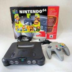 Videojuegos y Consolas: CONSOLA NINTENDO 64 - N64 + 1 MANDO - FUNCIONA - AÑO 1997. Lote 276642153