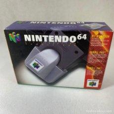 Videojuegos y Consolas: NINTENDO 64 - RUMBLE PAK - KIT VIBRATION + CAJA + INSTRUCCIONES. Lote 276689378