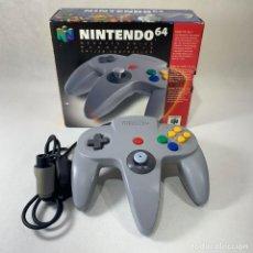 Videojuegos y Consolas: NINTENDO 64 - MANDO GRIS + CAJA - FUNCIONA. Lote 276689718