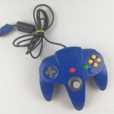 Videojuegos y Consolas: MANDO NINTENDO 64 AZUL. Lote 276779793