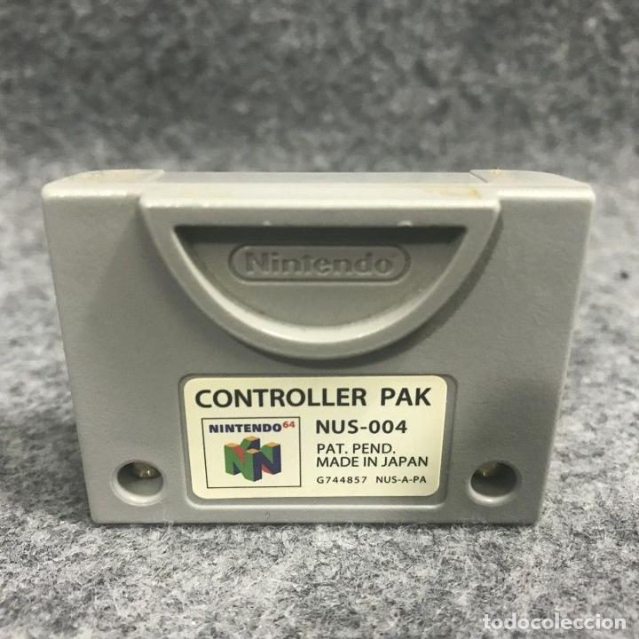 CONTROLLER PAK NINTENDO 64 (Juguetes - Videojuegos y Consolas - Nintendo - Nintendo 64)